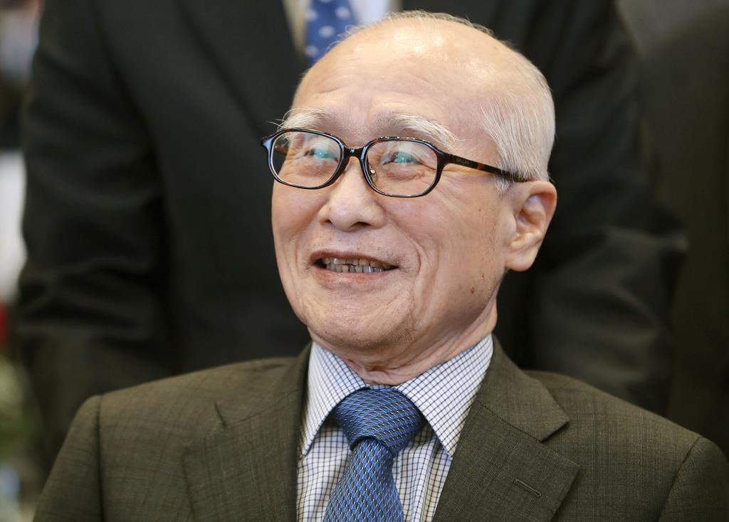 韓国の元財閥・大宇グループの創業者、金宇中元会長=2017年3月、ソウル(聯合=共同)