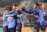 サッカー日本-中国速報(6)完 終了間際に失点も日本が逃げ切って白星