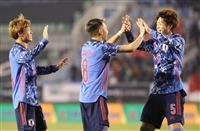 日本が中国を2-1で破る サッカーE-1選手権が開幕