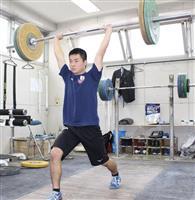 重量挙げでパリ五輪目指す安藤徹郎選手