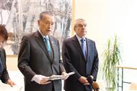 五輪休戦決議を採択 森元首相演説「争いのない世界を」