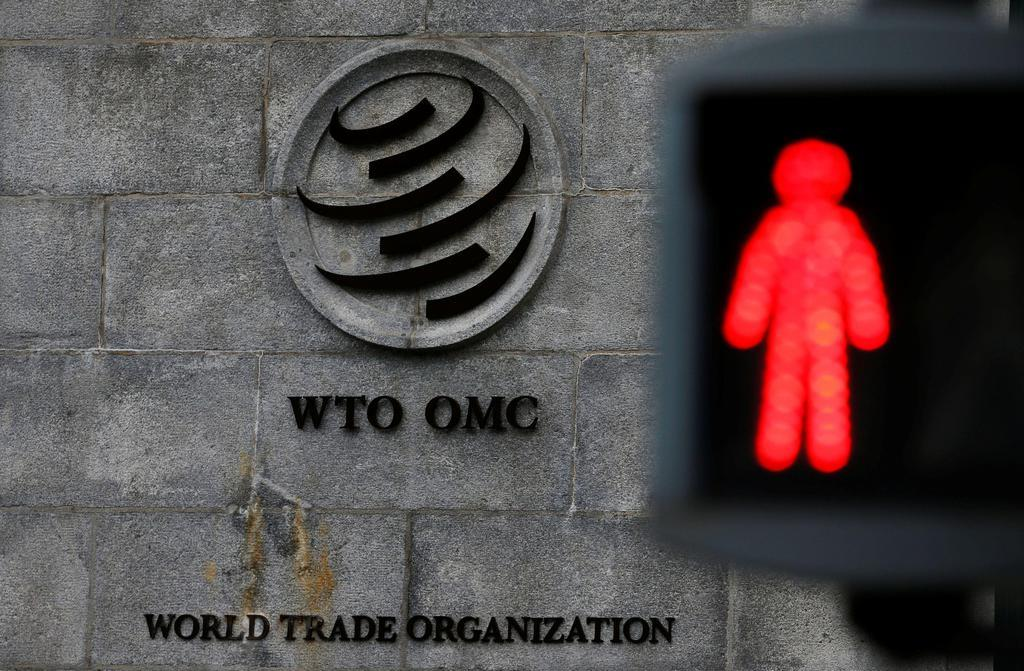 ジュネーブのWTO本部(共同)