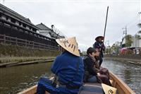 【台風19号】蔵の街遊覧船2カ月ぶりに再開 栃木県栃木市 被災2カ月