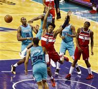 八村は前半6得点 NBAウィザーズがホーネッツ戦