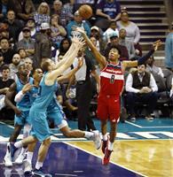 八村18得点もウィザーズ3連敗 NBAホーネッツ戦