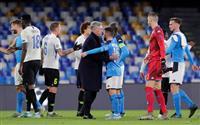 アンチェロッティ監督を解任 ナポリが欧州CL試合後