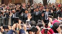 【動画あり】ラグビー日本がパレード リーチらファンに感謝、田中は涙 W杯で初のベスト8