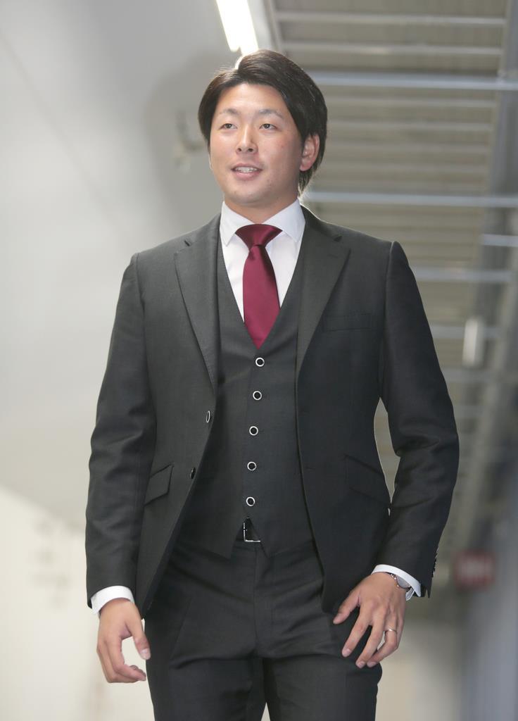 大瀬良は3千万円増 広島エース、沢村賞に意欲