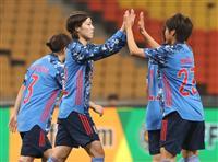 なでしこ、台湾に大勝 サッカーのE-1選手権