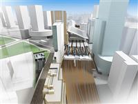大阪駅西側で大規模再開発 超高層ビルにオフィス、ホテル、劇場