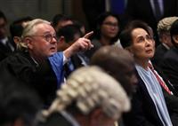スー・チー氏、ロヒンギャ迫害否定 「不完全で誤解を招く」 国際司法裁判所で説明