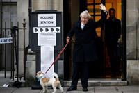 英総選挙の投票開始 EU離脱が争点、深夜に大勢判明へ
