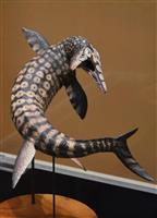 「海の王者」モササウルスの全身骨格展示 和歌山・海南
