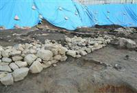 日宋貿易の拠点港跡か 博多区小学校跡地に石積み遺構