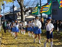 【台風19号2カ月】「がんばろう!東松山」 復興願い小学生鼓笛隊パレード