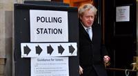 英総選挙 保守党が368議席獲得か 過半数の勢い 早期のEU離脱追い風に
