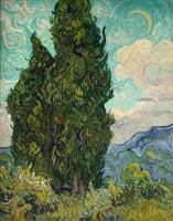 【ゴッホ展】「糸杉」 充ち満ちる画家の気迫
