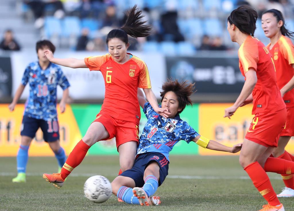 なでしこは中国に勝利 岩渕が3ゴール サッカー東アジアE-1選手権