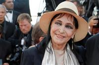 フランス女優のアンナ・カリーナさん死去 ゴダール監督の元妻