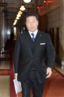 立民の福山幹事長「嫌疑は遺憾」 初鹿議員の強制わいせつ容疑で