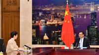 中国首相、香港行政トップに取り締まり要求 デモで「多方面の損害」