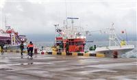 露、北方領土付近で日本漁船5隻を連行 違法操業容疑