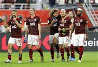 南米代表フラメンゴが逆転勝ち サッカーのクラブW杯準決勝