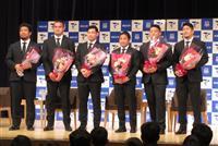 ラグビーW杯8強の堀江、松田らが母校・帝京大で報告会