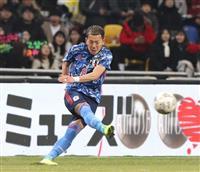 日本-韓国速報(4)日本が1点のリードを許して前半を終える
