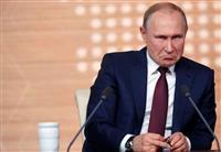プーチン露大統領「中国と軍事同盟結ばず」 トランプ氏弾劾は「こじつけ」