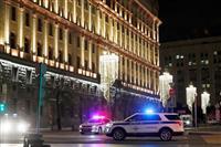 モスクワ中心部で銃撃 情報機関本部近く、職員1人死亡