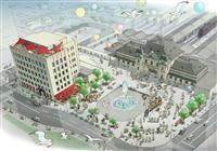 旧JR九州本社、ホテルに 香港の投資会社、令和3年夏の完成目指す