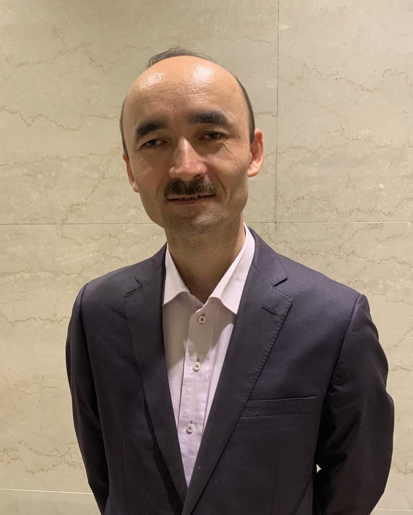 日本ウイグル協会理事のレテプ・アフメット氏