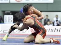 全日本レスリング最激戦の女子50キロ級、須崎が五輪に前進 接戦を分けた圧力