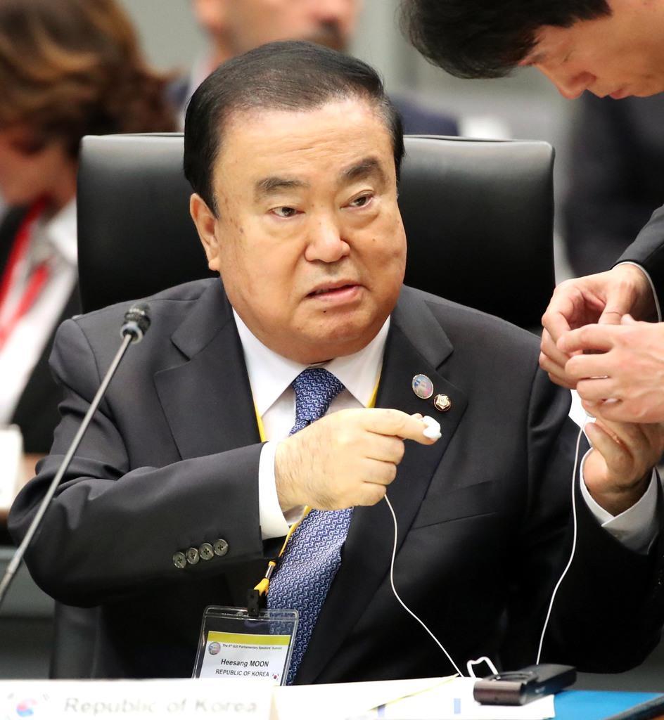 日本謝罪、首脳間で合意を 韓国議長が法案批判に反論 - 産経ニュース