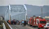 4台絡む事故、6人けが 和歌山、橋の上