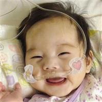 5カ月女児に心臓移植を 両親ら募金呼び掛け