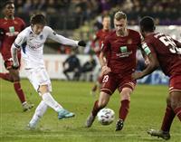 鈴木が今季5ゴール目 サッカーのベルギー1部