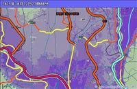 大雨リスク判断しやすく 気象庁HPの危険度分布