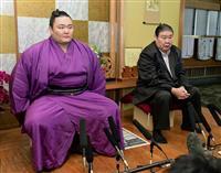 朝山が新関脇、大栄は新小結 大相撲初場所の番付発表