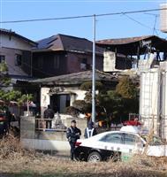未明に「助けて」の叫び声 2人焼死の仙台住宅火災