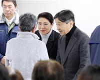 両陛下、手を握られ「どうぞお大事に」 宮城・福島被災者ご激励