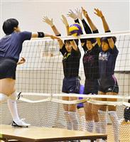 春高3連覇へ「質濃く」挑む 女子の金蘭会