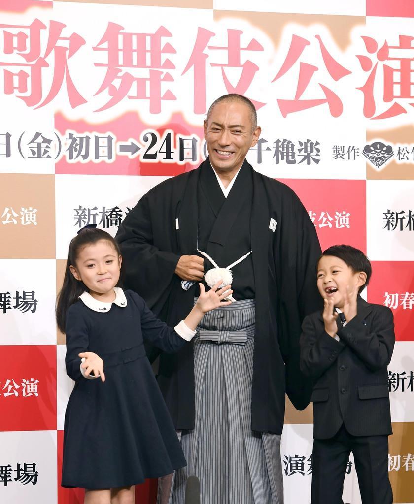 5月「十三代目市川團十郎白猿」襲名 海老蔵が初春歌舞伎公演で…