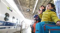 【動画あり】ふるさと、行楽地へ出発 関西で帰省ラッシュ本格化