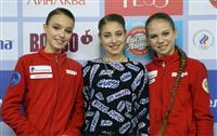 コストルナヤ「最高」 フィギュアのロシア選手権SP