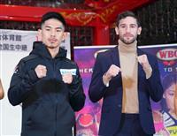 シントロン、井岡戦に自信 31日のボクシング世界戦