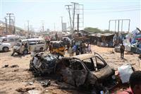 ソマリアで爆発30人死亡 過激派か、渋滞時間帯狙う