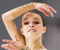 女子はシェルバコワ2連覇 フィギュアのロシア選手権