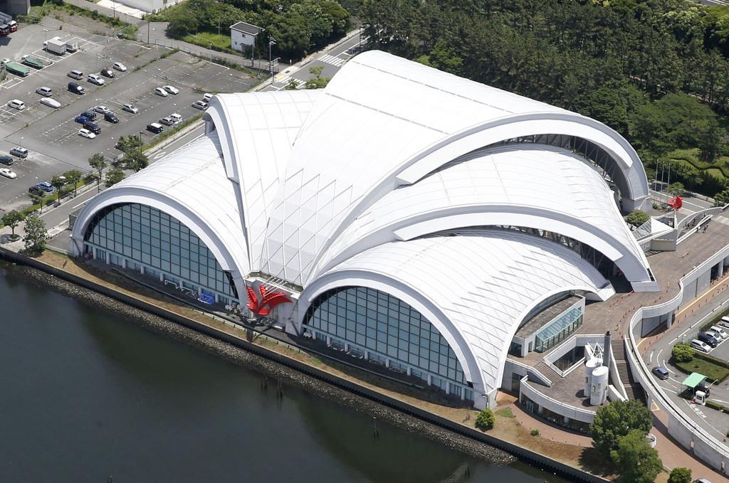 東京・辰巳の五輪水球会場にアスベスト 応急対策へ